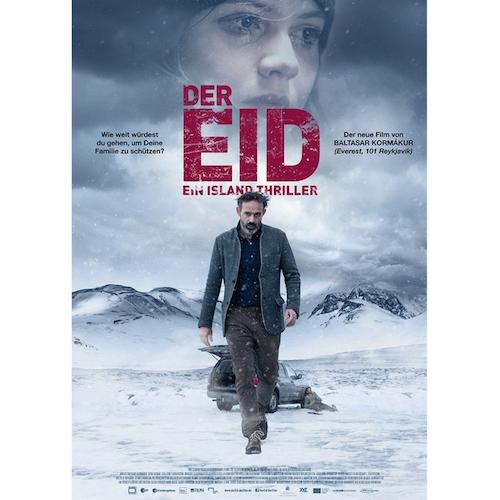 Filmplakat Der Eid, ein Island Thriller