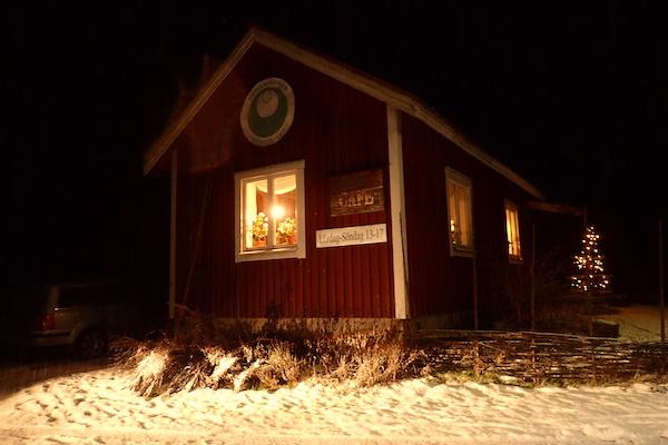 Bredsjö Blå, Käsecafé