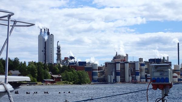 Papierfabrik Husum, Schweden