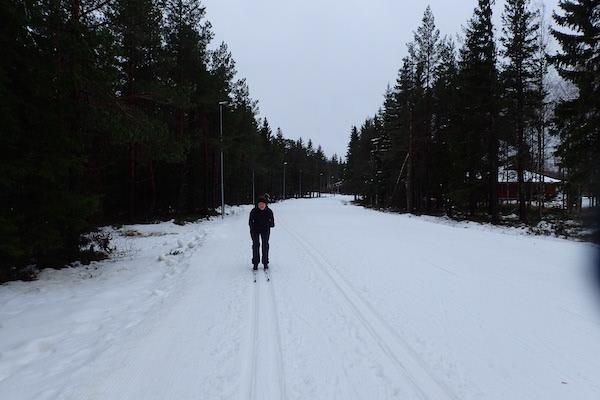 Langlaufskifahren Ånnaboda