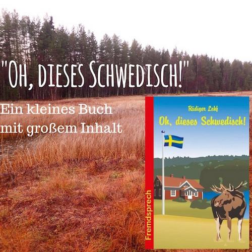 """""""Oh, dieses Schwedisch!"""" - Ein kleines Buch mit großem Inhalt"""