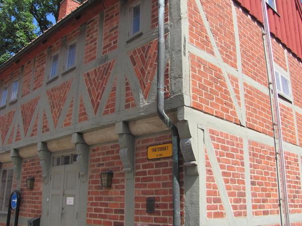 Fachwerkhaus am Tvättorget in Ystad
