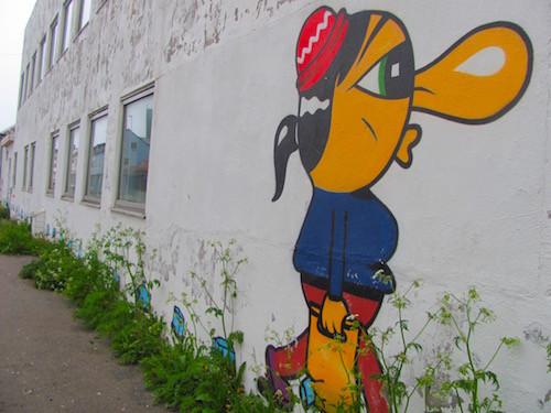 Streetart in Vardø