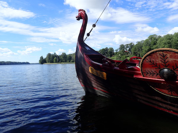 Wikingerschiff Nameisis in Koknese