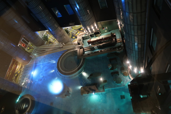 Pool im Tallink Spa & Conference Hotel in Tallinn