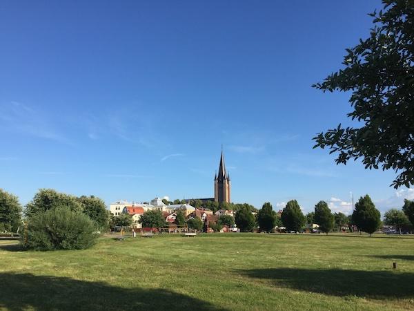 Blick auf Mariestad