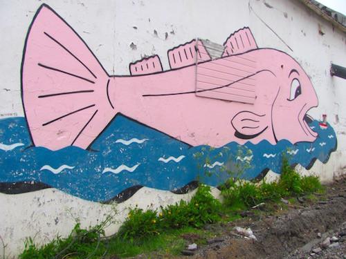 Streetart, Vardø, Norway