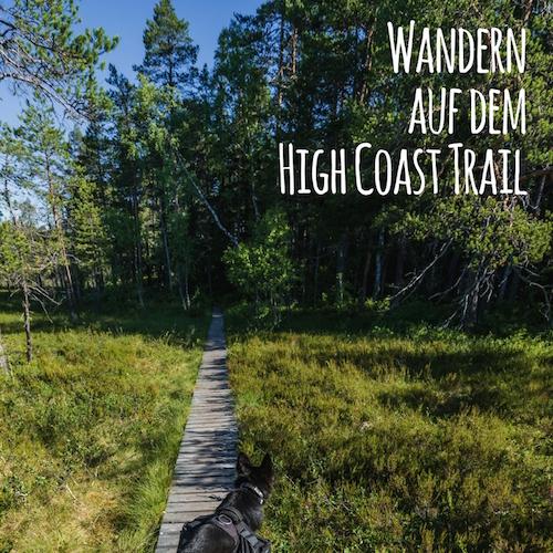 Wandern auf dem High Coast Trail