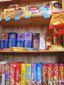 Fika Kekse und Schoki im Schweden-Markt