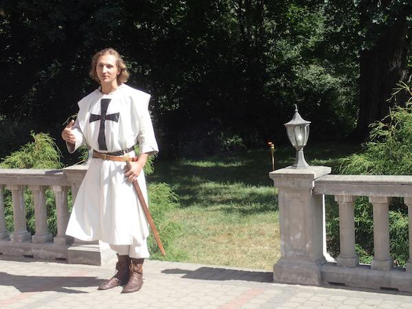 Ein Ritter in Valmiera?