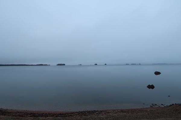 Der See Hjälmaren in Schweden