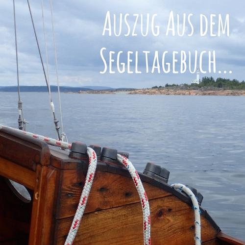 Blogpost: Auszug aus dem Segeltagebuch (Segeln in Nordschweden)