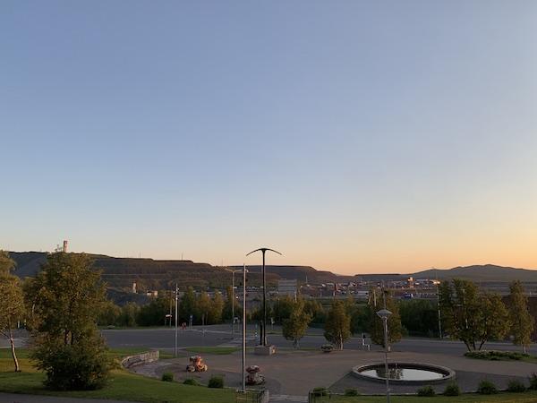 Aussicht über die Mine in Kiruna | Foto: Ekaterina Venkina