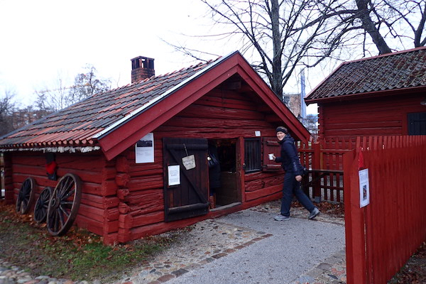 Im Freilichtmuseum Wadköping in Örebro
