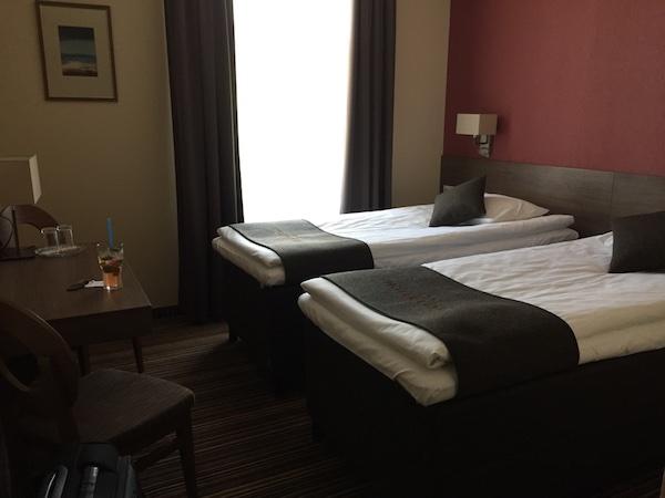 Zweibettzimmer im Hotel Cesis