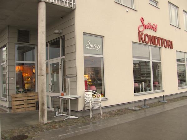Konditorei, Café Snövit in Göteborg