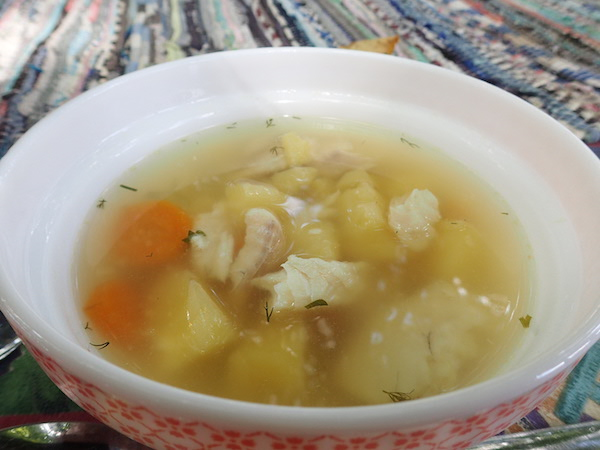 Welssuppe in Koknese