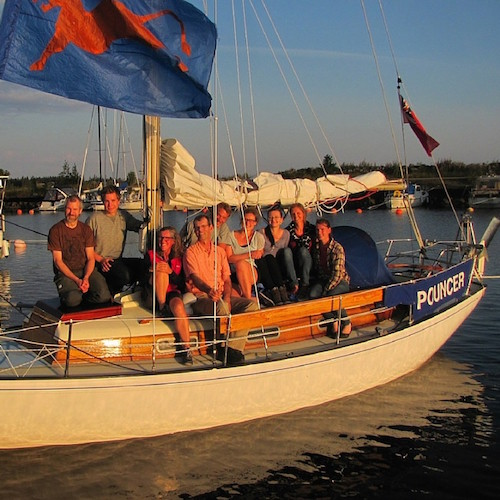 Crew der Skandinavien Umsegelung 2015!