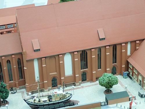 Modell des Katharinenklosters in Stralsund