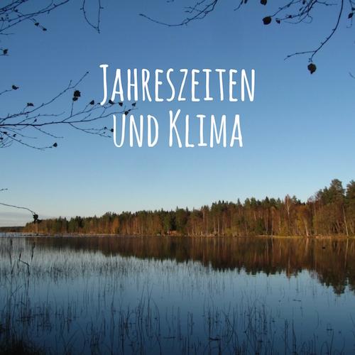 Jahreszeiten, Klima, Reisezeiten | Schwedenblog