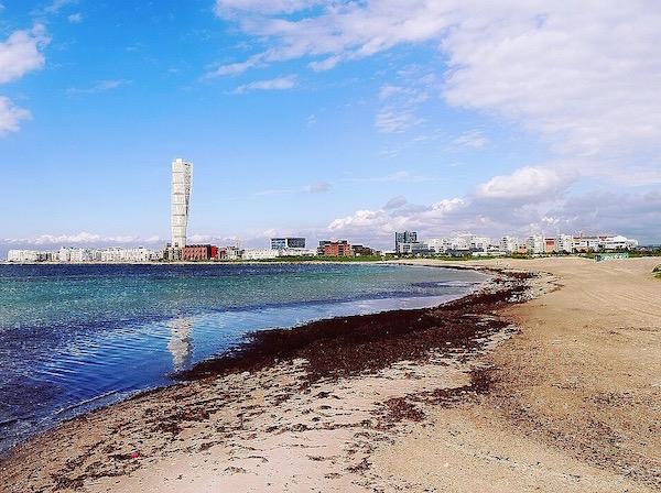Malmö und Meer - Foto: Isas Womo