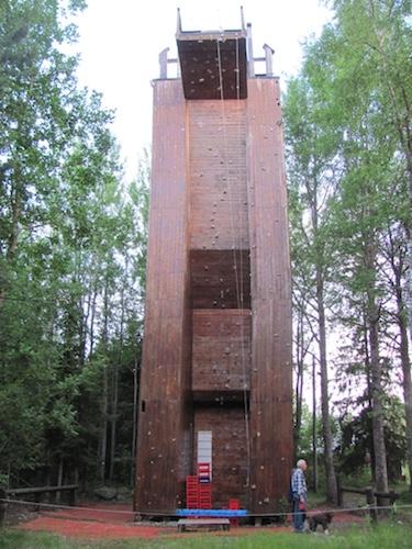 Kletterturm auf Norrbyskär