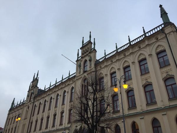 Das Rathaus in Örebro, Schweden