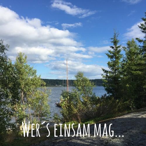 Wers einsam mag... Kleine Inseln in Nordschweden