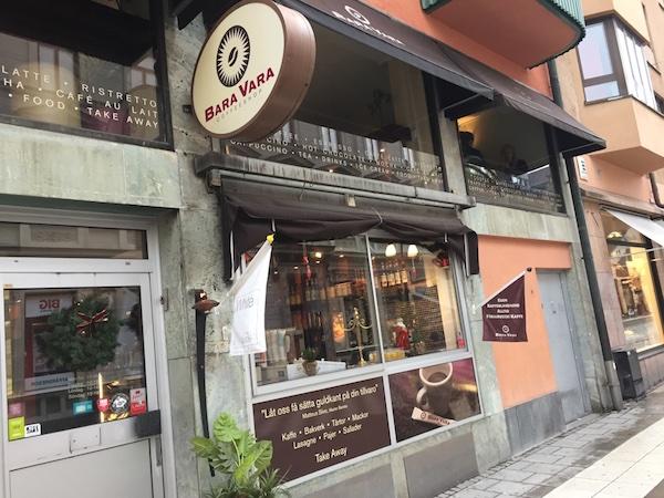 Bara Vara Café in Örebro in Schweden