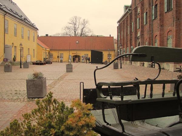Göteborg, Innenhof Kronhuset