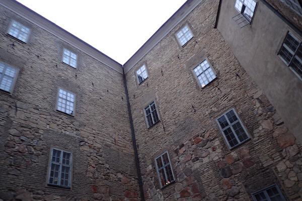 Innenhof vom Schloss in Örebro