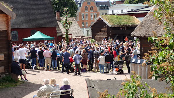 An Mittsommer im Kulturen in Lund
