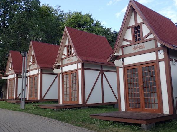 Hansa Hütten in Valmiera, Lettland