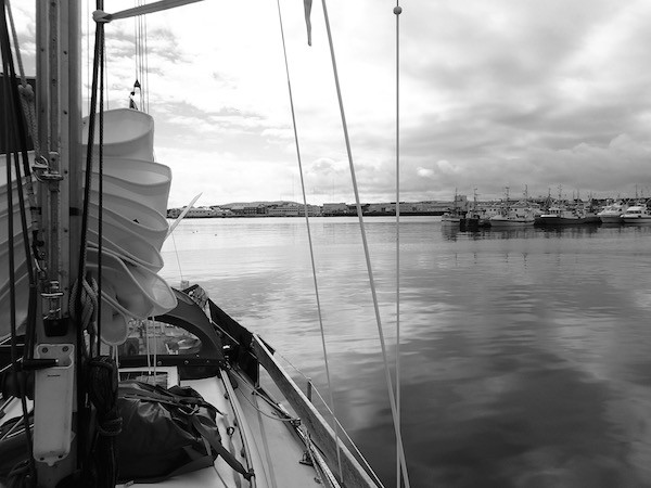 Pouncer´s Blick auf Vardø, Norwegen.