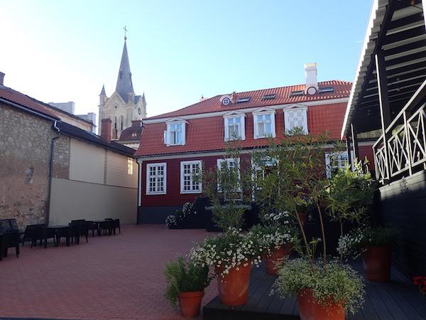 Nordic style restaurant Vanadziņš in Cesis, Lettland