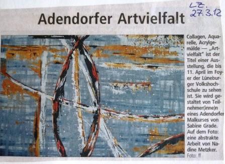 Landeszeitung, 27.03.2012