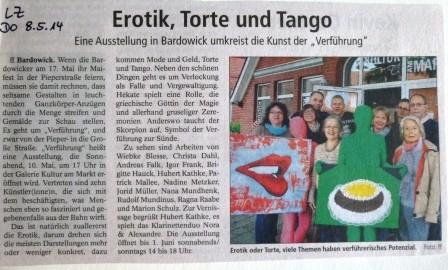 Landeszeitung, 08.05.2014