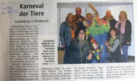 Landeszeitung, 26.04.2013