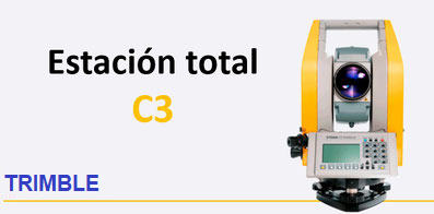 estaciones totales mecanicas trimble c3