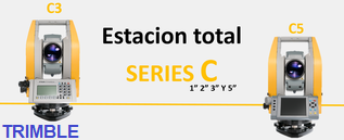 estaciones totales serie c de trimble c3 c5