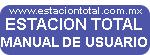equipo topografico manual de usuario estacion total