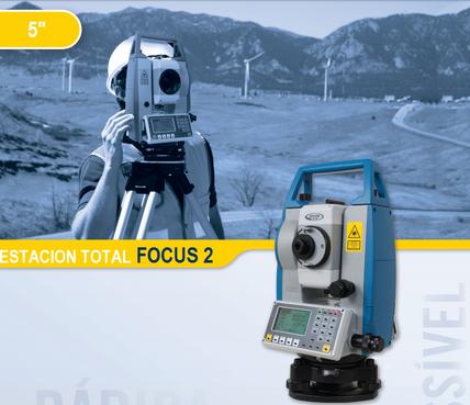 estaciones totales spectra precision focus2 5