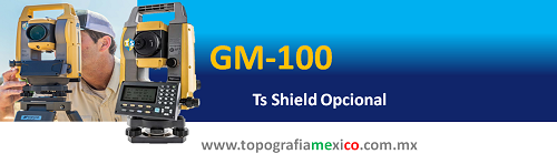 gm100 de topcon con o sin ts shield