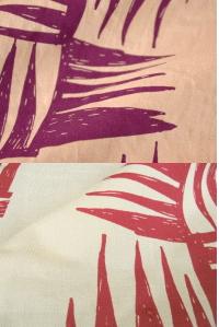 夢二式浴衣 髪飾り カラー:紫・赤