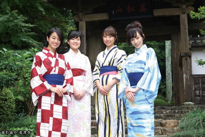 井伊谷四季の浴衣(井伊直虎コンセプト)