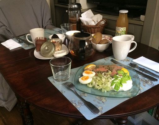 Low Carb High Fat breakfast at key2paris