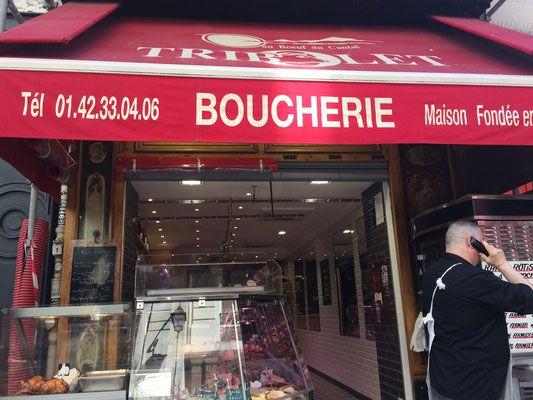 Boucherie Tribolet rue Montorgueil, 75002