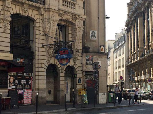Le réseau Métro, RER dans Paris