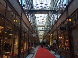 Le passage du Grand Cerg, quartier Montorgueil, 75002