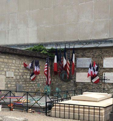 tombe de Lafayette, cimétière de Picpus 75012